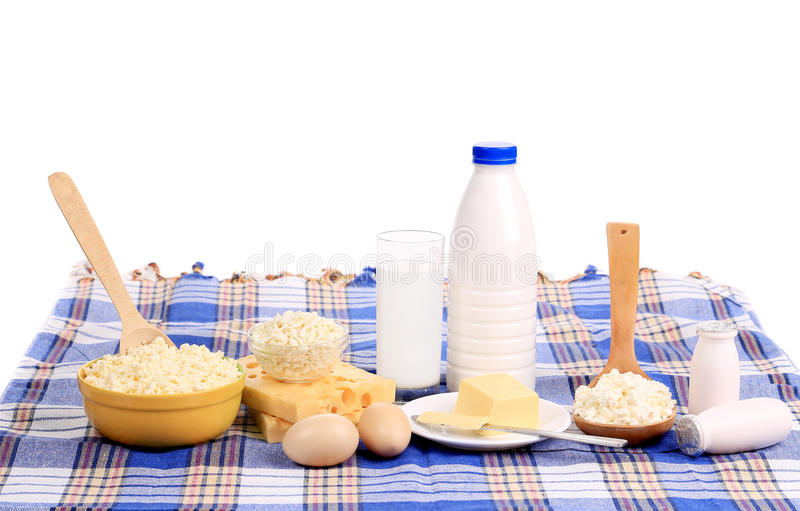 Здоровый завтрак, который служат на таблице. стоковое фото rf