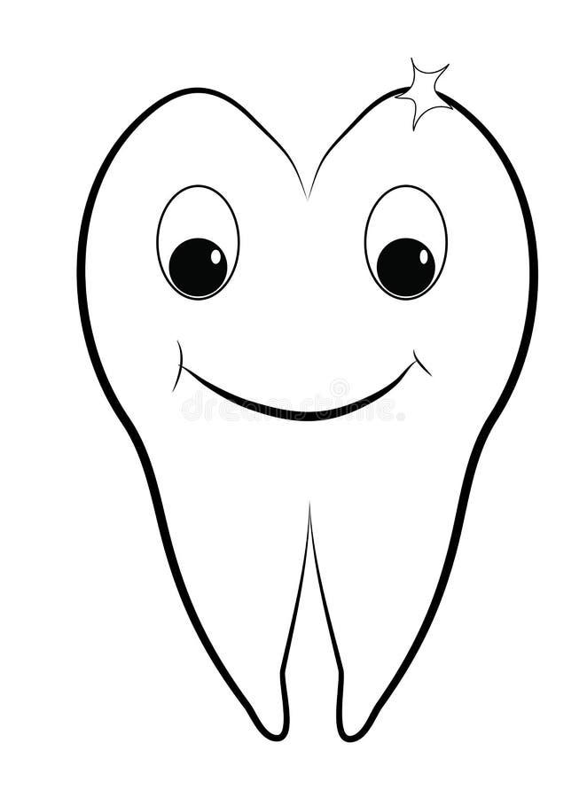 Здоровый зуб стоковые изображения rf
