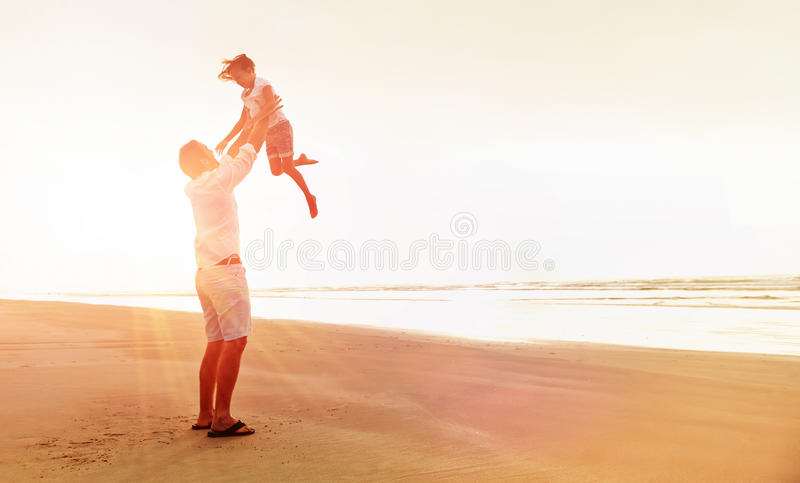 Здоровая семья потехи стоковое изображение