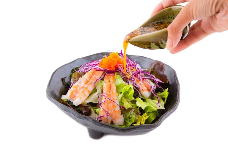 Download здоровый салат стоковое изображение. изображение насчитывающей салат - 81808591