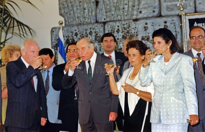 Здравица Ицхака Рабина традиционная стоковые изображения rf