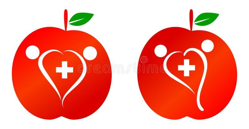 Здравоохранение семьи иллюстрация штока