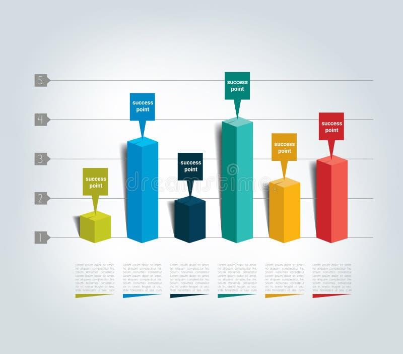 диаграмма дизайна 3D бесплатная иллюстрация