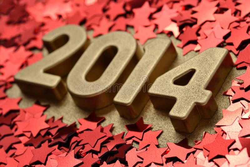 Download диаграммы 2014 год золотые стоковое изображение. изображение насчитывающей свет - 33735771