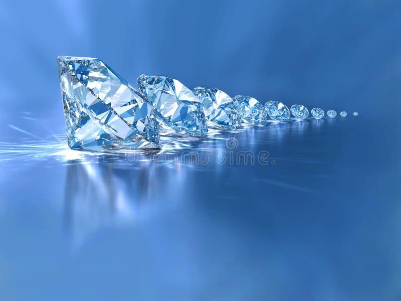 диаманты стоковое изображение