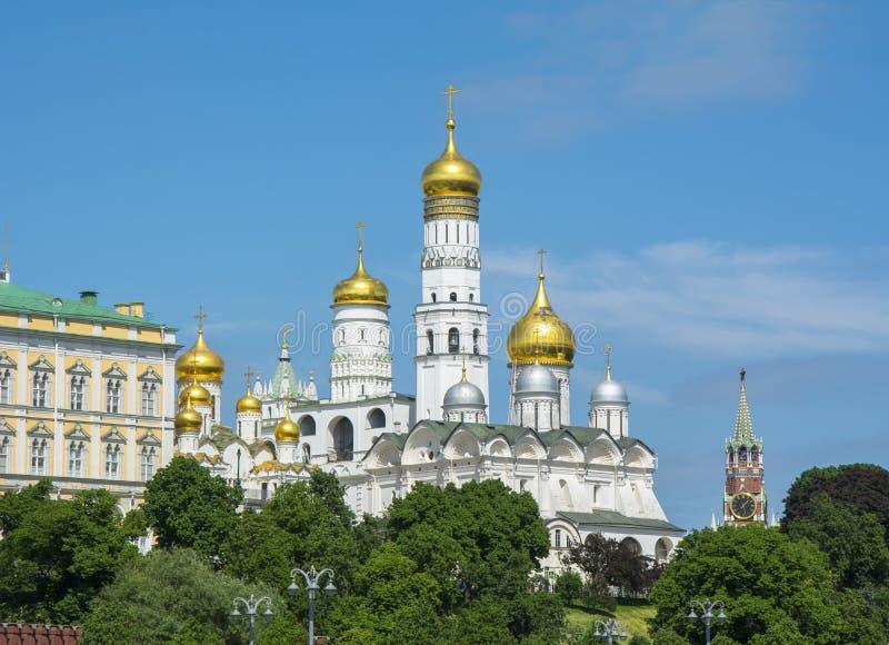 Иван большая колокольня в Москве Кремле, России стоковое фото