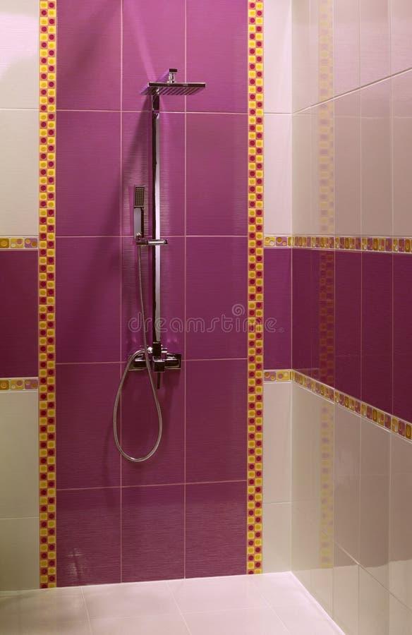 ливень ванной комнаты самомоднейший стоковые изображения