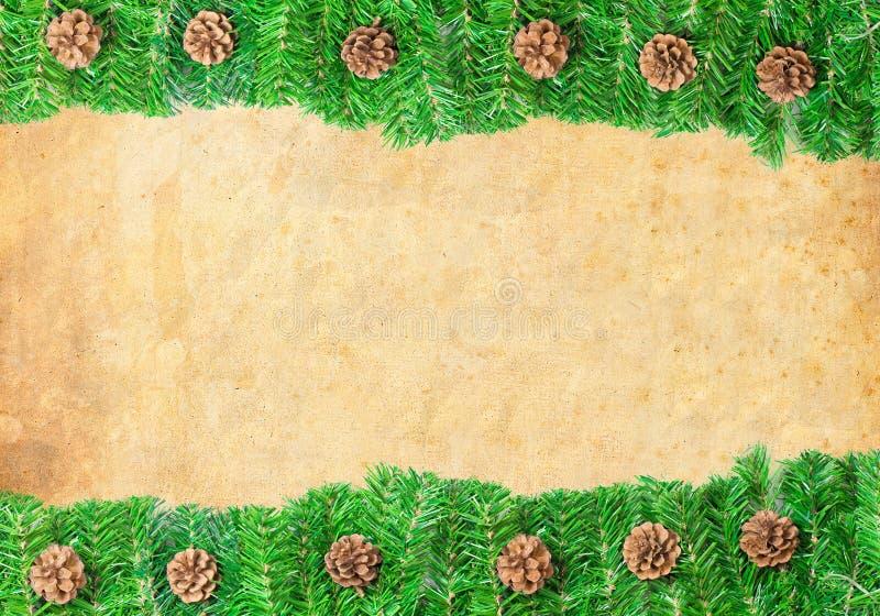 иглы ine рамок рождества стоковое изображение