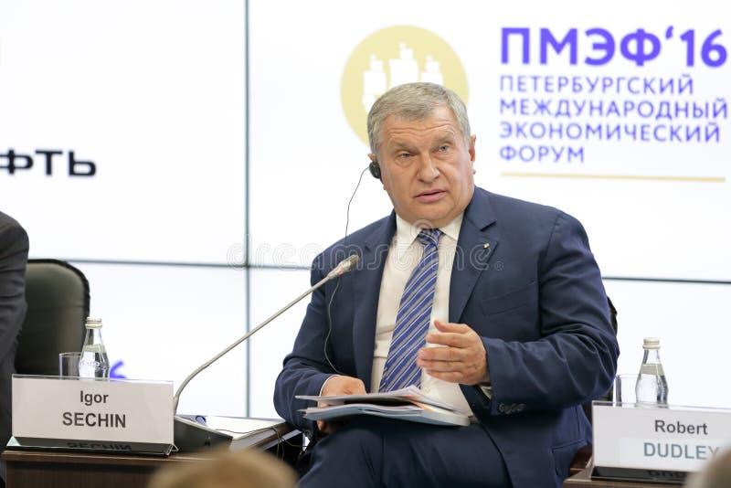 Игорь Sechin стоковые фото