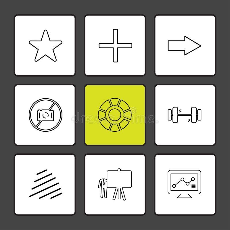 играйте главные роли, здание тела, доска, диаграмма, диаграмма, процент, naviga иллюстрация вектора