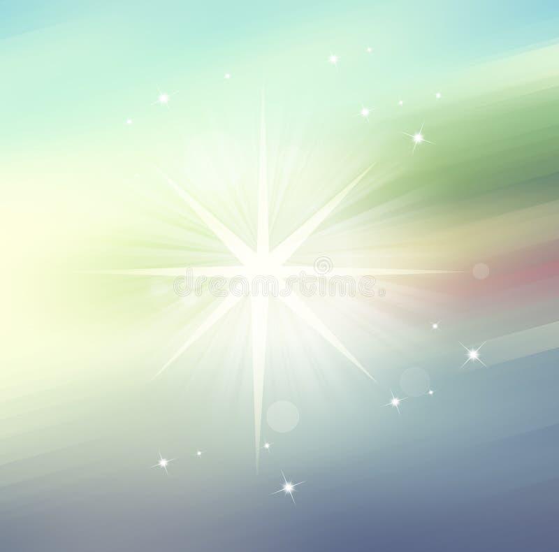 Играйте главные роли свет, предпосылка нерезкости конспекта для веб-дизайна, бесплатная иллюстрация