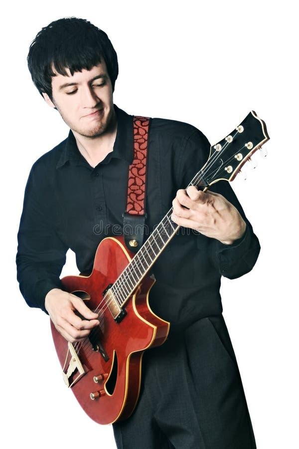 играть гитариста гитары стоковые фотографии rf
