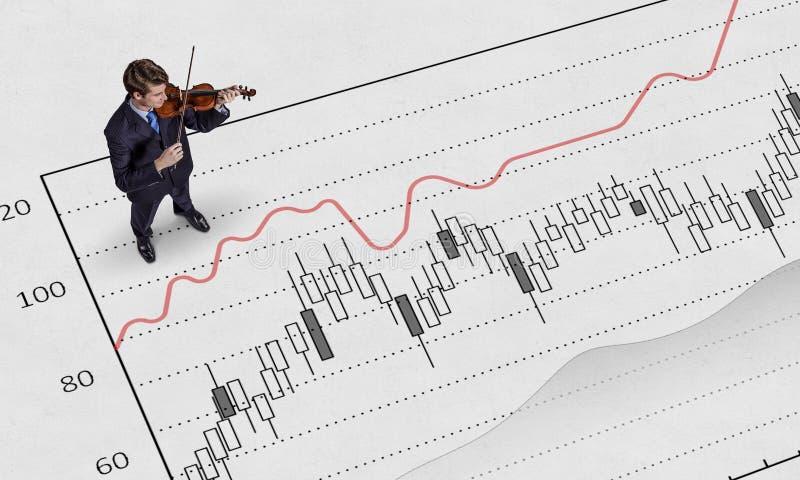Download Играть его мелодию успеха Мультимедиа Стоковое Изображение - изображение насчитывающей офис, бело: 81807755