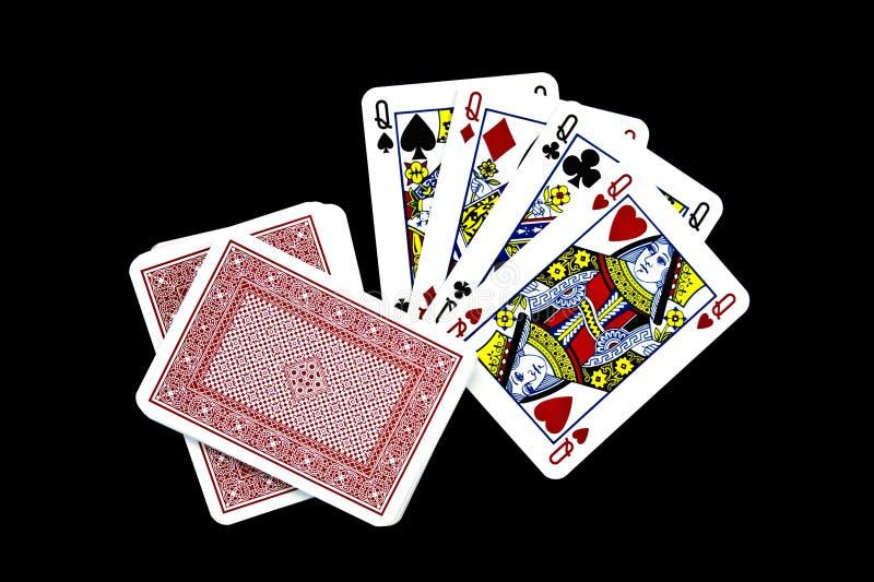 Download играть карточек стоковое изображение. изображение насчитывающей лопаты - 6852767