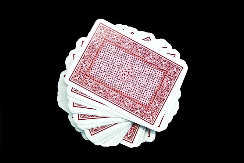 Download играть карточек стоковое изображение. изображение насчитывающей красно - 6852775