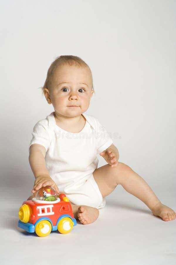 играть малыша стоковое фото rf