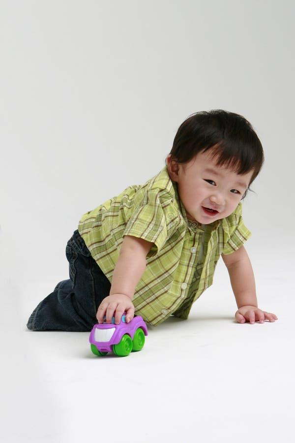 играть малыша стоковое фото