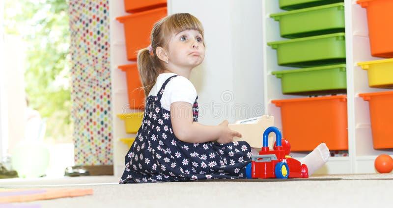 Играть на daycare стоковое фото
