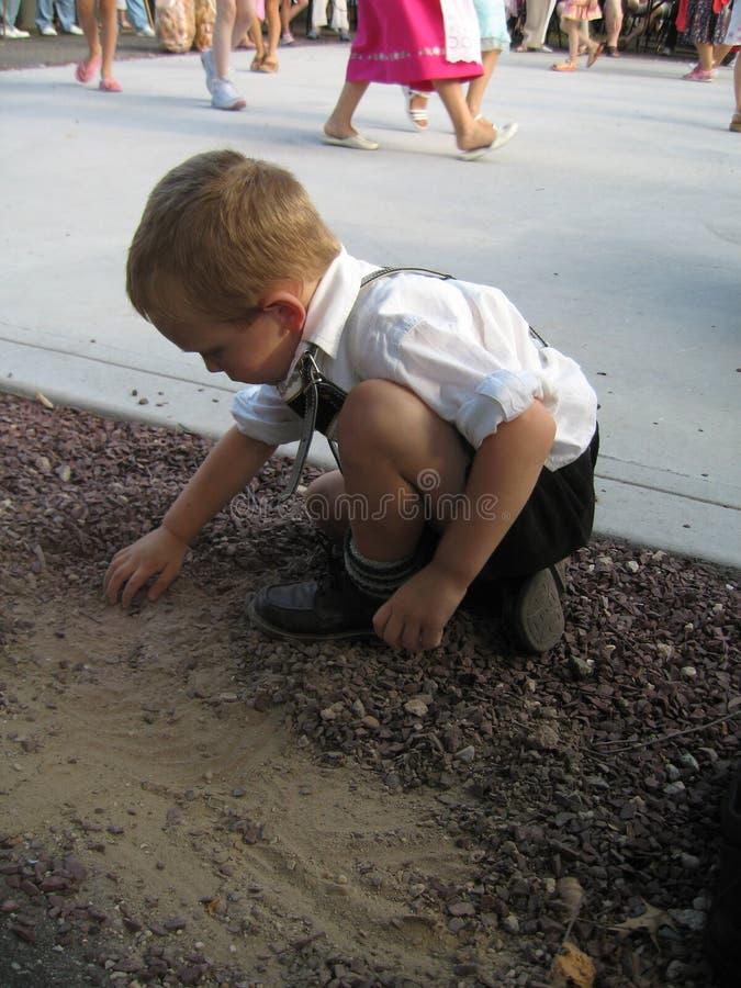играть немца ребенка стоковая фотография rf