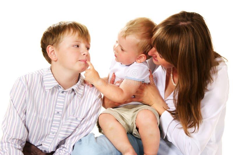 играть семьи стоковые фотографии rf
