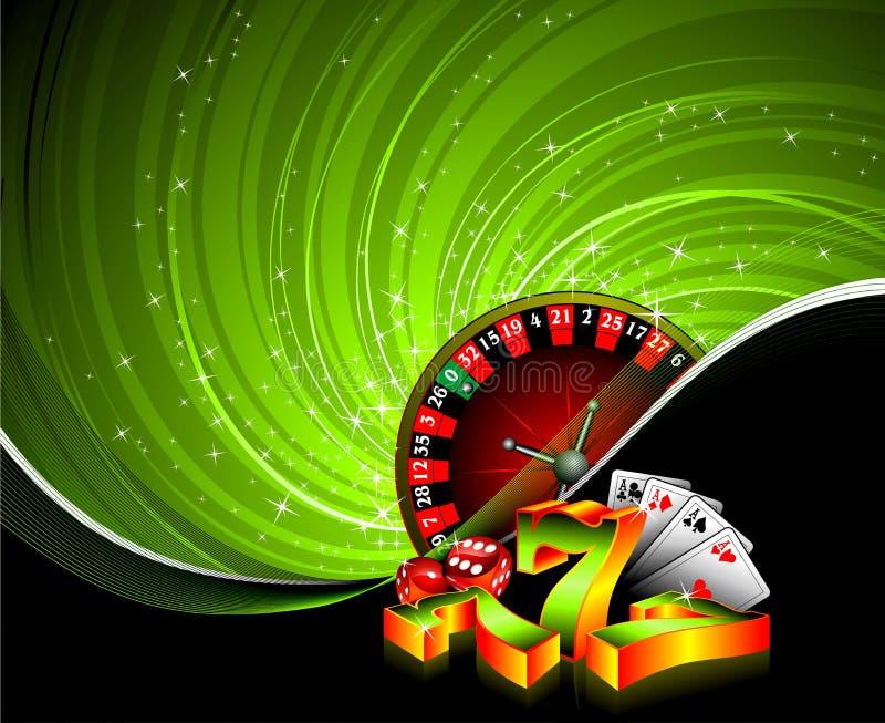 играя в азартные игры иллюстрация иллюстрация штока