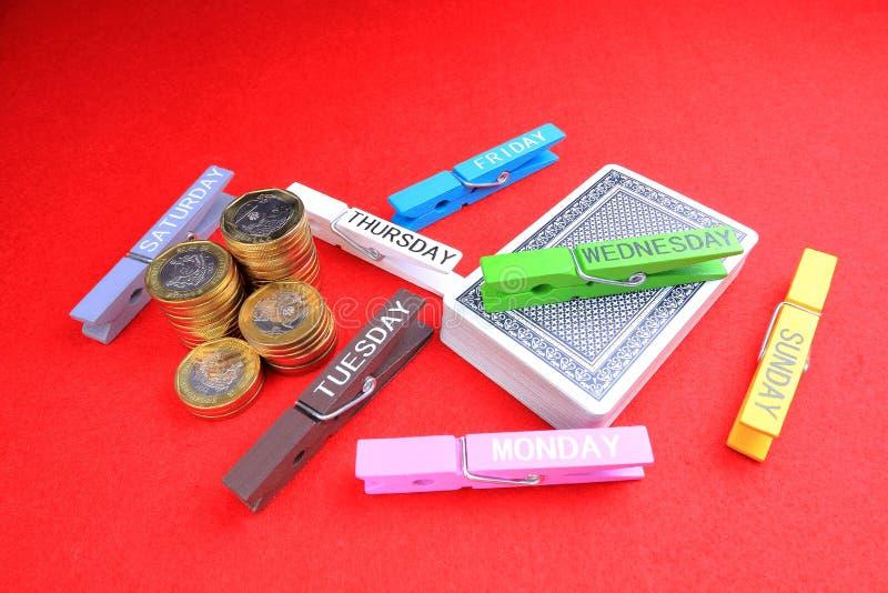 Играя в азартные игры наркомания стоковые изображения