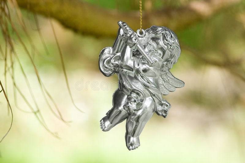 игра ангела стоковое изображение