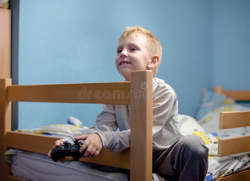 Игра видеоигр стоковая фотография rf