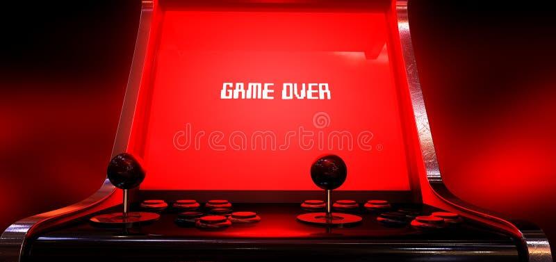 Игра видеоигры сверх стоковая фотография