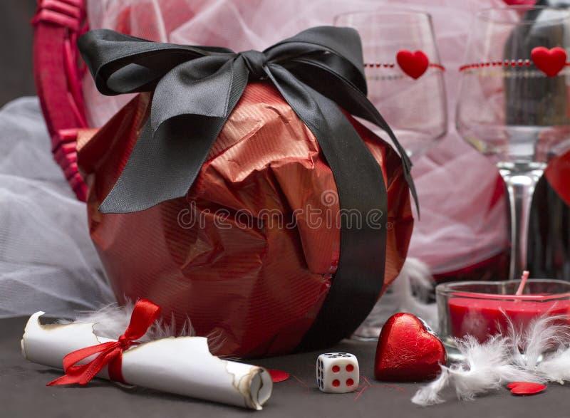 Игра влюбленности для 2 любовников стоковое фото rf