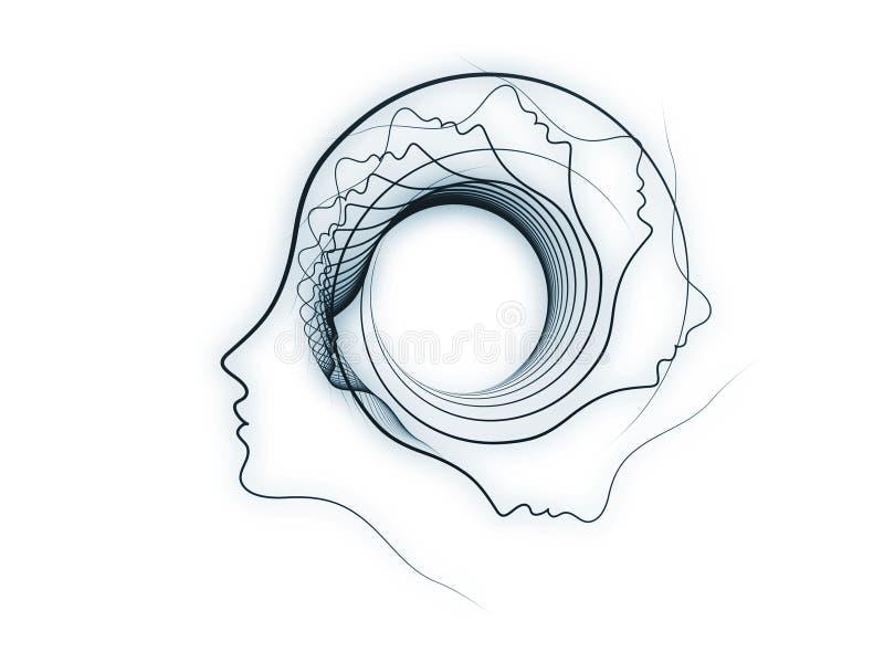 Download Игра геометрии души иллюстрация штока. иллюстрации насчитывающей подбородок - 40589090