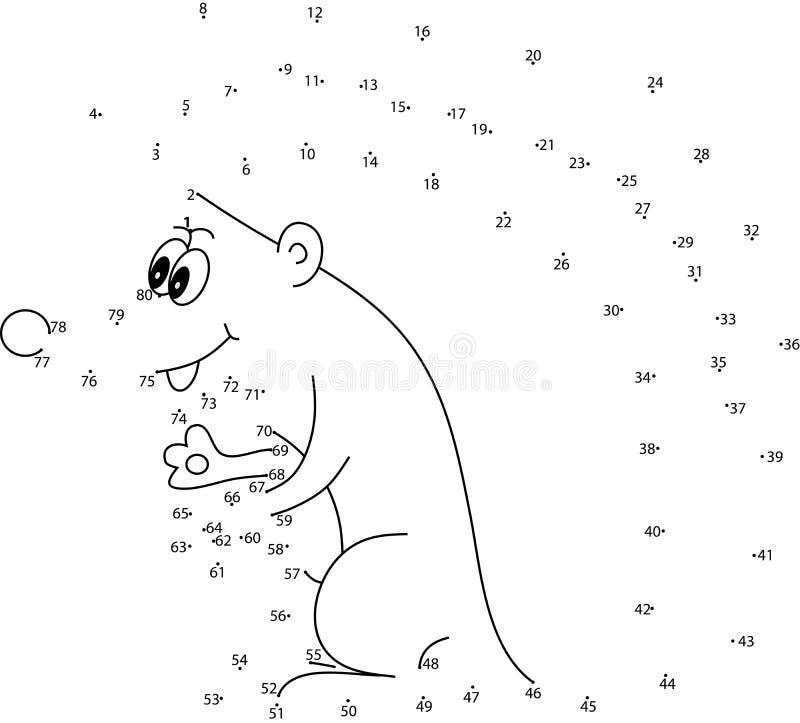Игра головоломки для малышей иллюстрация штока
