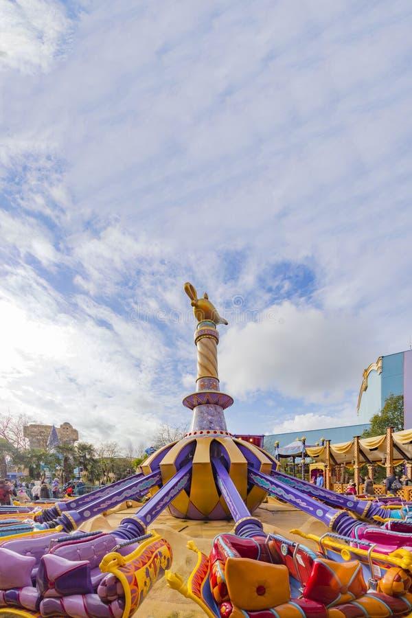 Игра Диснейленда Парижа евро стоковое фото