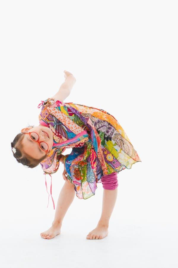 Игра маленькой девочки стоковые изображения