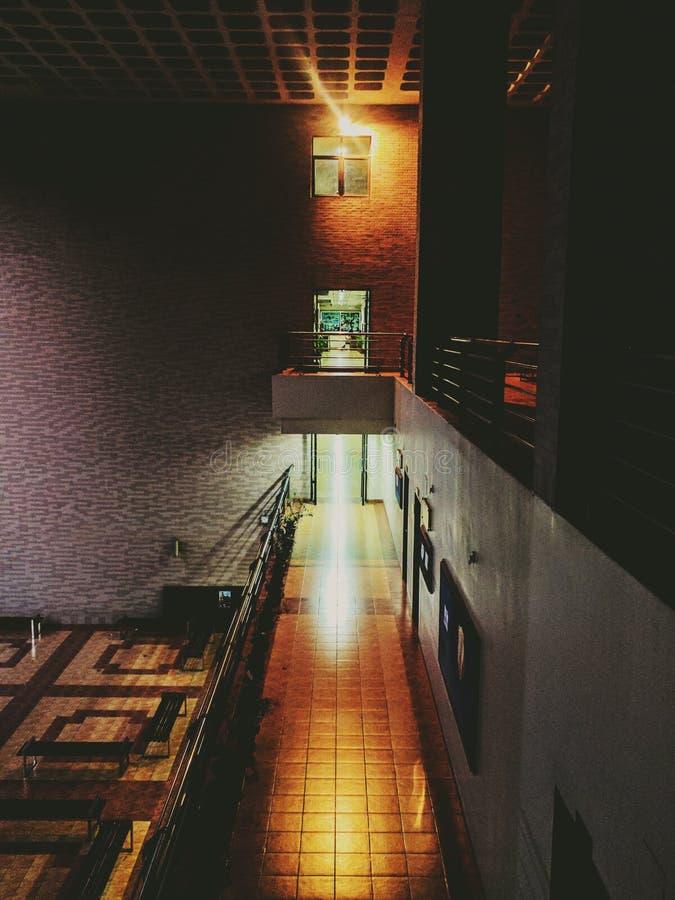 Игра между светлой и темнотой стоковые фотографии rf