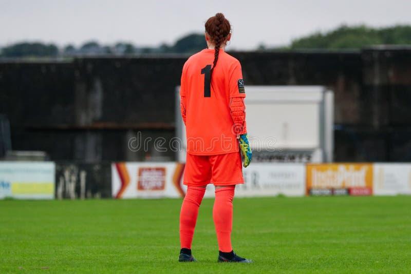 Игра национальной лиги женщин: Голуэй WFC против Peamount соединил стоковые фотографии rf