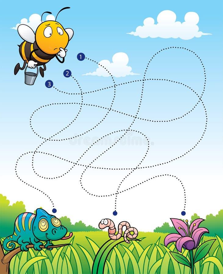 Игра образования иллюстрация вектора