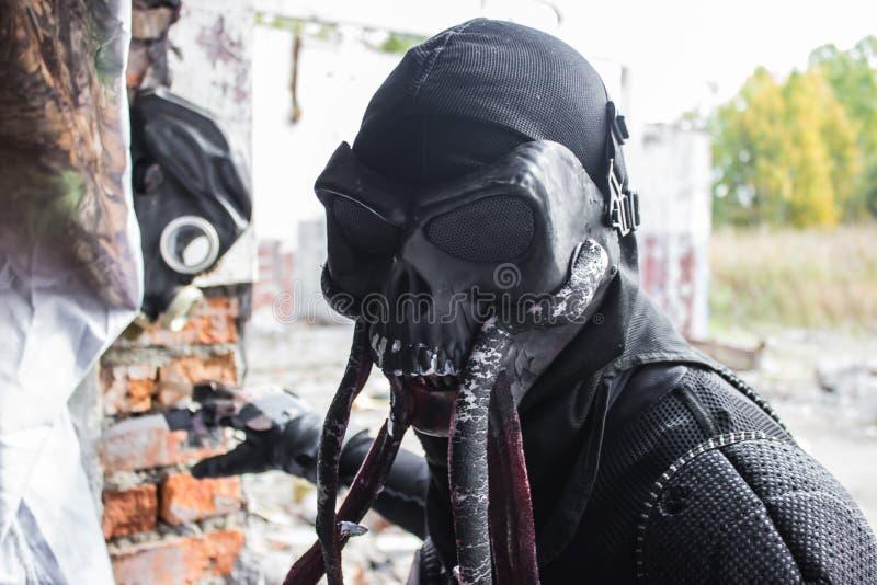 Игра Сталкера изверга Bloodsucker cosplay стоковое изображение rf