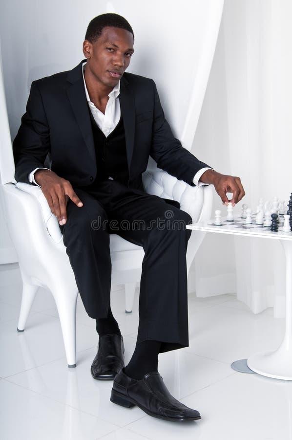 игра шахмат шикарная стоковое фото rf