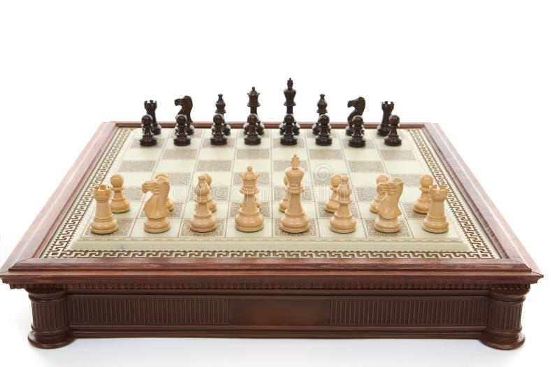 игра шахмат стоковое изображение