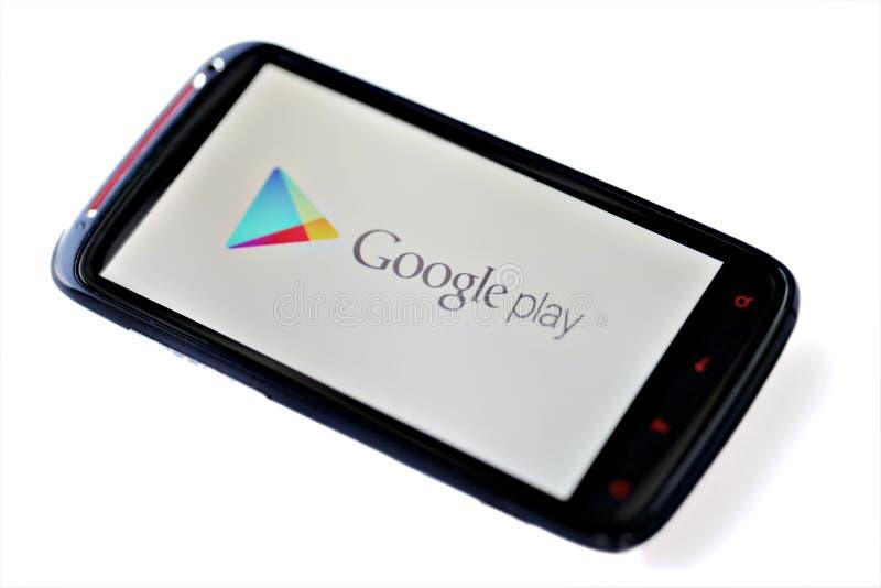 Игра Google стоковая фотография rf