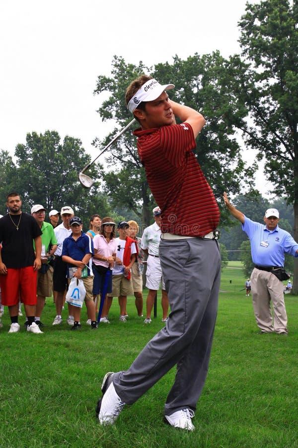 Игрок в гольф Джеф Overton PGA стоковое фото