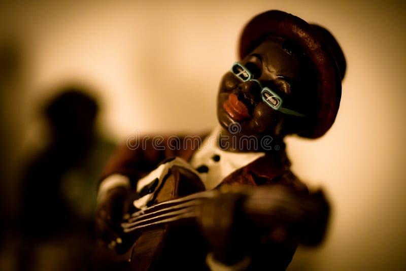 Игрок джаза стоковая фотография