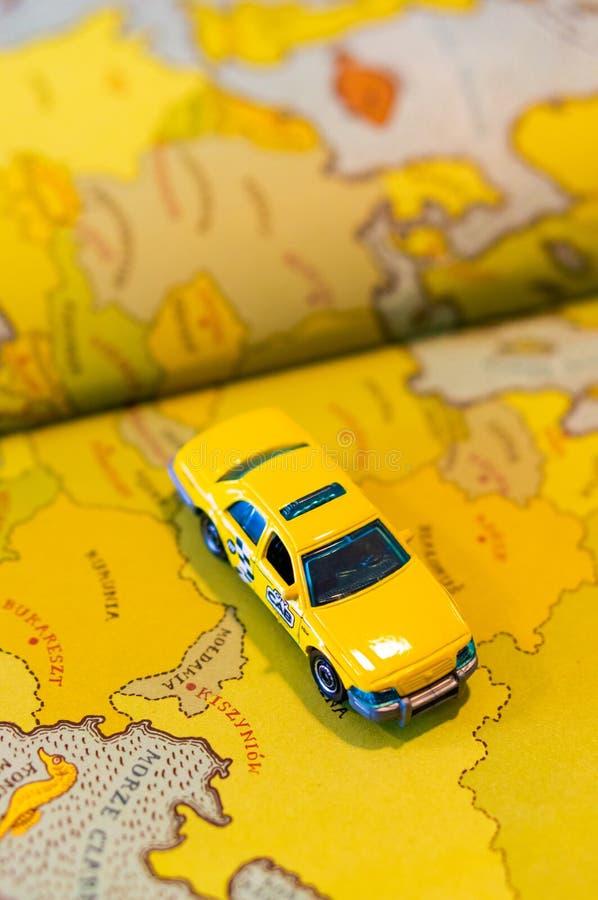 Игрушечное такси стоковые изображения rf