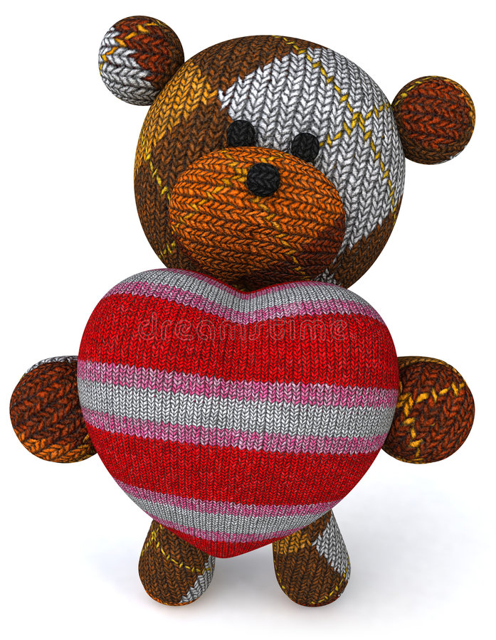Download игрушечный медведя иллюстрация штока. иллюстрации насчитывающей шерсть - 6862438