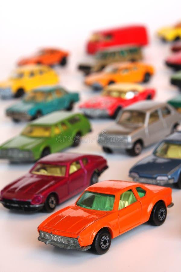 игрушка автомобилей стоковые фото