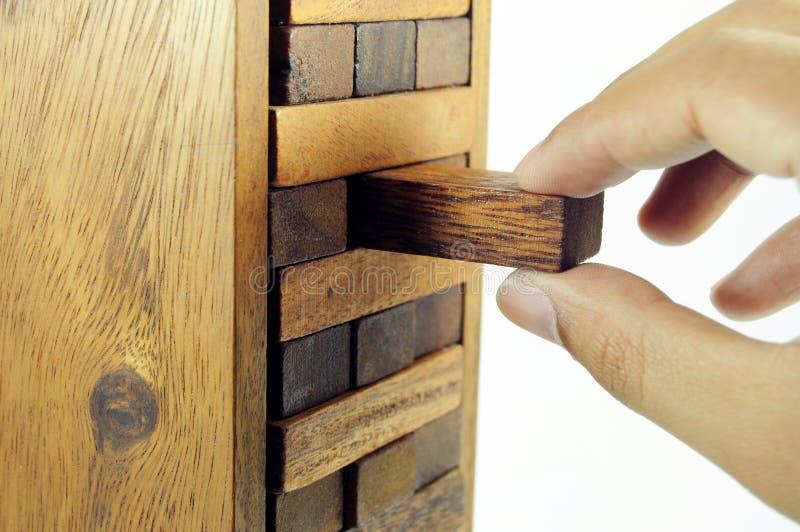 игрушка блока деревянная стоковое фото rf