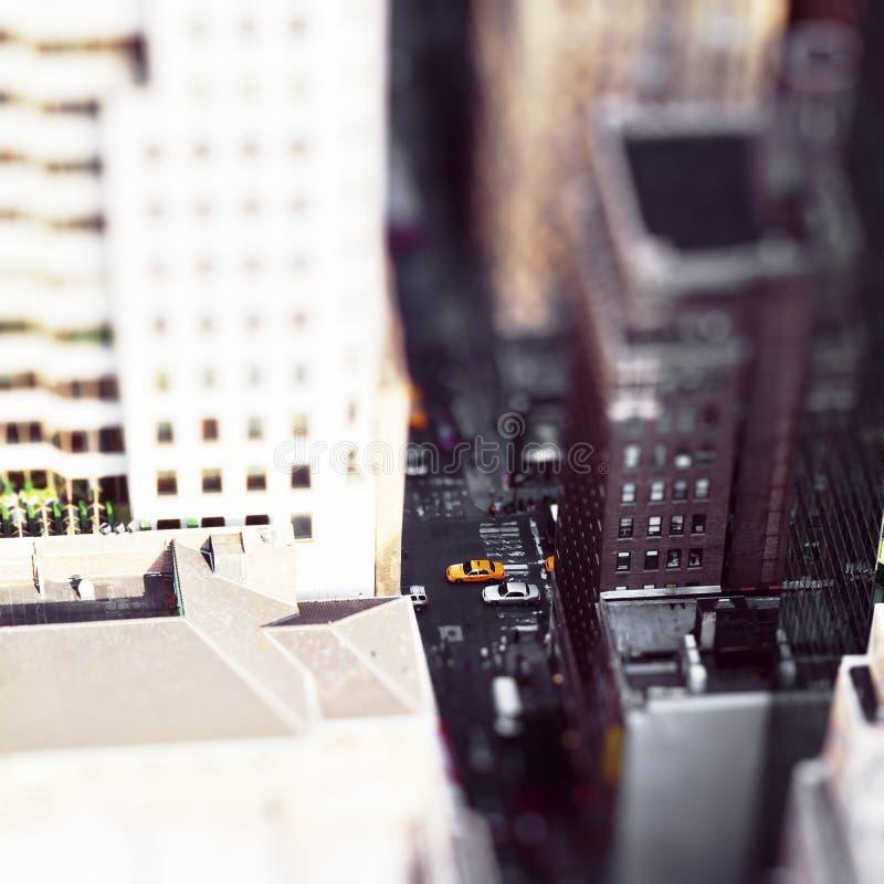 игрушка города стоковая фотография rf