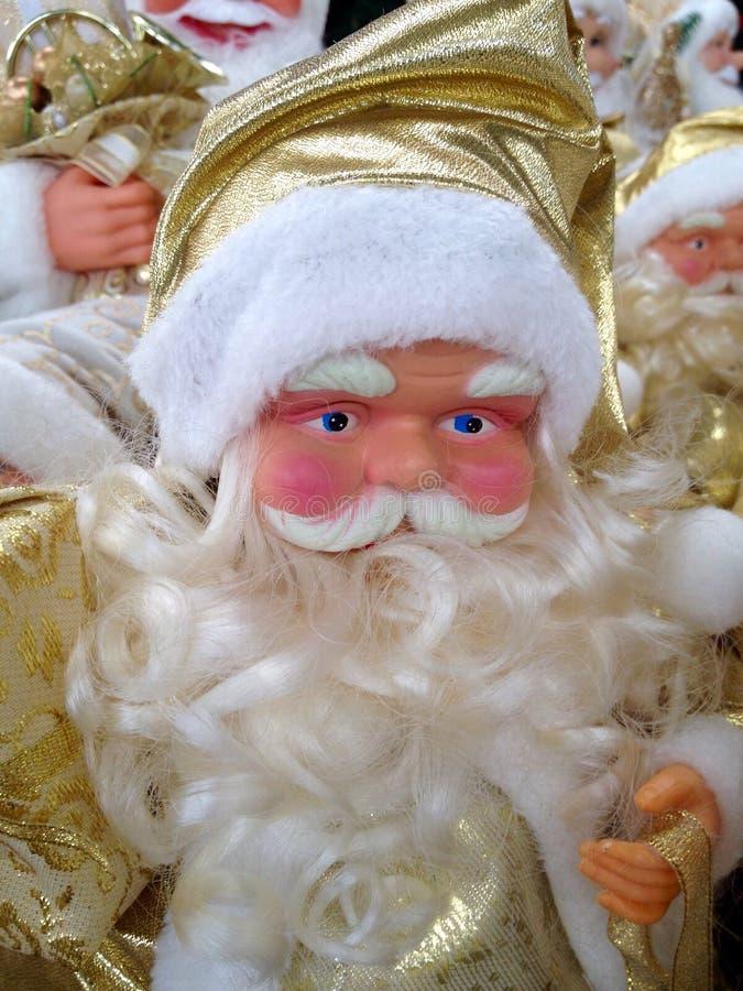 Игрушка Дед Мороз стоковые изображения rf
