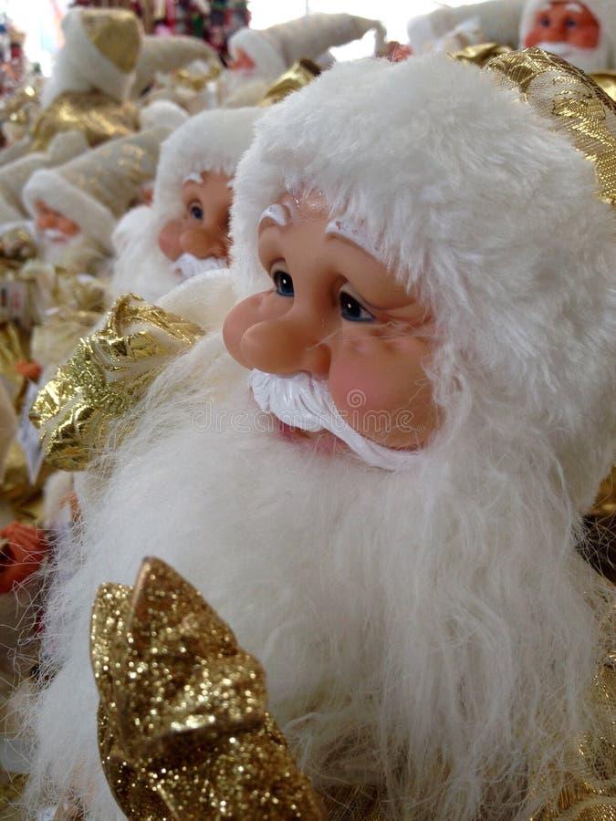 Игрушка Дед Мороз стоковые изображения